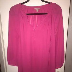 Roz & Ali Pink Tunic Size 2X